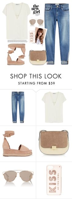 Untitled #713 by jovana-p-com on Polyvore featuring moda, T By Alexander Wang, Frame, Chloé, Kate Spade and Christian Dior