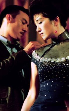 Chang Chen and Gong Li in Eros directed by Wong Kar-wai, Steven Soderbergh and…