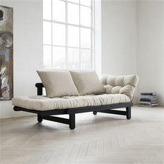 Fresh Futon Beat Black Convertible Sofa Beatbl001 Dorm And Ager Rooms