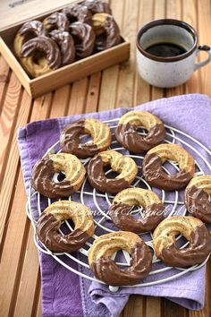 Mandelringe - weihnachtsgebäck - Home flw Summer Dessert Recipes, Dessert Cake Recipes, Pudding Desserts, Healthy Dessert Recipes, Peanut Butter Desserts, Dessert Bars, Chocolate Desserts, Easy Strawberry Desserts, Easy No Bake Desserts