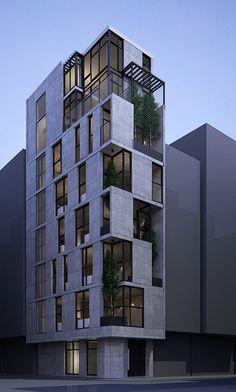 Residential Building Design, Office Building Architecture, Parametric Architecture, Building Facade, Building Exterior, Facade Architecture, Residential Architecture, Amazing Architecture, Contemporary Architecture