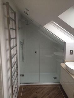 A Southport en suite bathroom in a loft conversion by topfliteloftconversions.co.uk