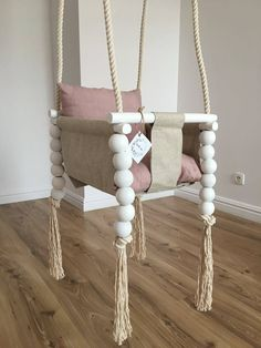 Girl Nursery, Girl Room, Diy Bebe, Creation Deco, Baby Sewing Projects, Baby Swings, Baby Furniture, Baby Room Decor, Baby Crafts