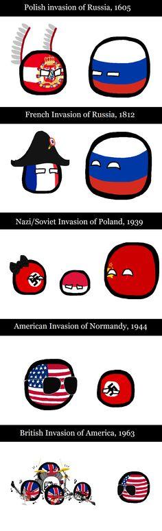 Polandball - Invasions