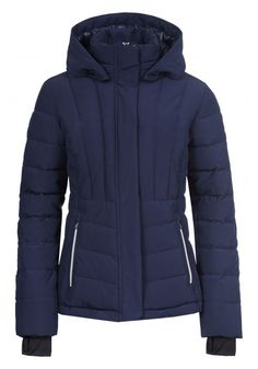 An imitation down jacket with modern stitching is proof that outdoor fashion can be super-stylish as well as being highly functional. This women's jacket combines windproof stretch material with a high waterproof value and good breathability. Christmas Wishlist 2018, Nordic Design, Winter Jackets, Modern, Fashion, Winter Coats, Moda, Trendy Tree, Winter Vest Outfits