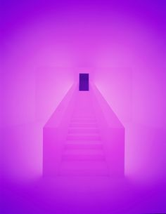 I LOVE James Turrell !  He is a genius with light.