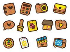 Set of Chocho Icons on Behance
