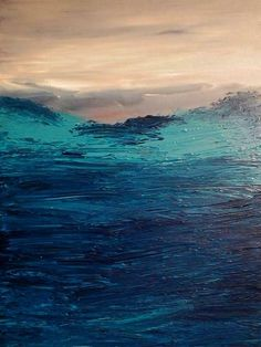 """This is style of painting that I do. I call it my style """"Jazzy Paintings"""". Each stroke of the brush has its own unique texture and shape just like a fingerprint. Most of my art is made by Palette-Knife. Dog Paintings, Seascape Paintings, Original Paintings, Large Canvas, Canvas Art, Impressionist Landscape, Art Oil, Wall Art Decor, Fine Art"""