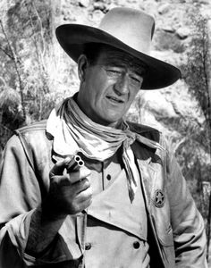 Talk low, talk slow and don't say too much ~ John Wayne