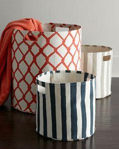 laundry baskets - beautiful storage