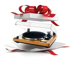 Thorens Turntable - The perfect gift for an Audiophile or Vinyl Lover. Music Rooms, Record Player, Audiophile, Turntable, Light Up, Seasons, Holidays, Gifts, Holidays Events