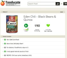 Fooducate's Cellphone App Provides GMO Info on Over 200,000 Products!  Just scan the bar code, and you will know!