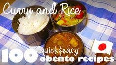 Curry Rice Recipe (Ep.9 / 100 Quick & Easy Bento / Lunch Box Ideas)