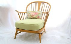 New! Lovely and spring like...Rare vintage ercol 501 'Bergere' easy by TheHappyChairCompany, £250.00