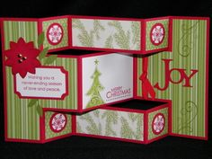 Tri Fold Card KA by Technique_Freak - Cards and Paper Crafts at Splitcoaststampers