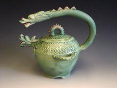 two dragon teapot