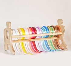 Ribbon organizer Office organizer Organizer holder by TreeSky, $40.00 saw this and thought of @Solange Stamper