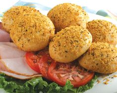 Bake seasoned buttery crumbs on these already delicious rolls and you'll love them even more!