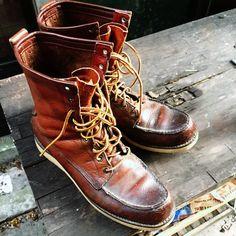 Red Wing Irish Setter Boots
