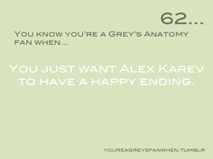 You Know You're a Grey's Anatomy Fan When