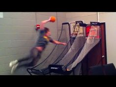 During a game of HORSE with us, our friend Aaron Keyes pulled off the ultimate game-winner.