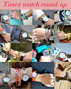 Some great ways to pair up your menswear-inspired timepiece!