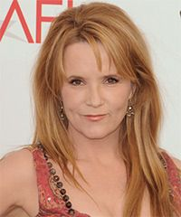 Lea Thompson Hairstyle - Long Straight Casual