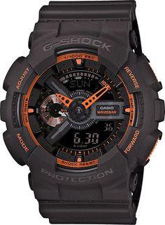G-Shock GA110TS-1A4 Grey Orange Analog Digital