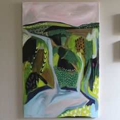 abstract art, landscape painting, painter, fine art, art, Amy Hartelust artist