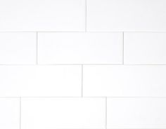The Tile Shop White Gloss 3x6 Subway Tile - we have a sample of this