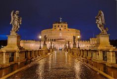 Castel Sant'Angelo, Rome.  World In Four Days A Travel & LifeStyle Blog www.worldinfourdays.com