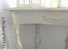 4 the love of wood: RE PURPOSING A GATE LEG TABLE