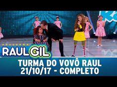 Turma do Vovô Raul - Completo   Programa Raul Gil (21/10/17) - YouTube Playlists, Raul Gil, Basketball Court, Sports, Youtube, You Complete Me, Hs Sports, Sport, Youtubers