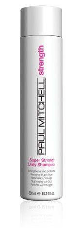 Super Strong Daily Shampoo Yıpranmış saçları onarır ve güçlendirir. Koparak dökülmelere karşı yeniden yapılandırır ve korur.