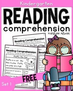 Reading comprehension passages - great for kindergarten and first grade! FREE!