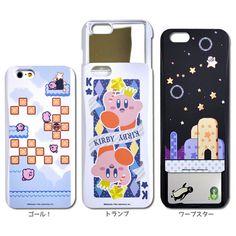 『星のカービィ』のiPhone6s/6カバー登場、ICカードケース・ミラーを内蔵したモデル   インサイド