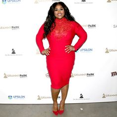 NEW YORK, NY - MAY 05:  Singer Jazmine Sullivan poses backstage at the GRAMMY Park - Artist Spotlight: NE-YO With Jazmine Sullivan at Kings Theatre on May 5, 2016 in New York City.  (Photo by Paul Zimmerman/WireImage for The Recording Academy)