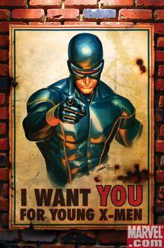 Cyclops X-men Marvel Art