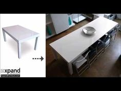 The Pillar Dining Table that Extends to Seat 12 - Expand Furniture - Folding Tables, Smarter Wall Beds, Space Savers Expand Furniture, Convertible Furniture, Bed Wall, Hidden Storage, Dinner Table, Folding Tables, Leaflets, Dining, Townhouse