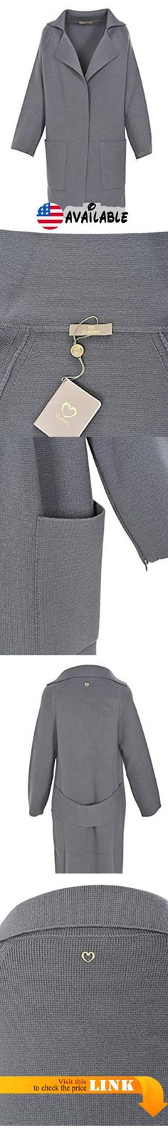 B077HTR6QS : Cruciani Cardigan Women's Gray Regular Fit Wool Casual 42 IT. Brand: Cruciani   Size EU: 42 IT   Size UK:. Color: Gray   Made in: IT   Fit Type: Regular Fit. Lifestyle: Casual   Pattern Type: Plain   Closure Type:. Material: Wool Wool.  More information in the product description  #Apparel #SWEATER