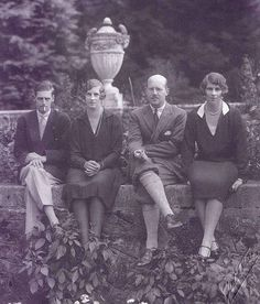 Prince Nicholae of Romania with his cousin Princess Irene of Greece and Denmark, Crown Princess Elena of Romania (née Princess Helen of Greece and Denma. Princess Alice Of Battenberg, Greek Royalty, Greek Royal Family, Royal Monarchy, Grand Duchess Olga, Princess Style, Royal House, Kaiser, Romania