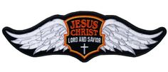 Jesus Wings Embroidered Biker Patch 12″ x 3.75″ http://bikeraa.com/jesus-wings-embroidered-biker-patch-12-x-3-75/