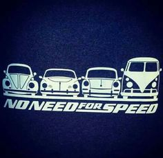 VW: No need for speed