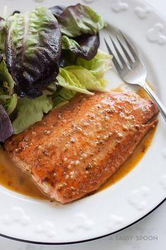 15-Minute Honey Mustard Salmon   A Sassy Spoon