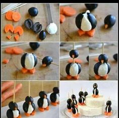 Penguins: I went to a party where these were on the table.  Glorious!