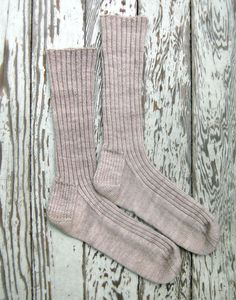 I love a good sock pattern, and this one claims to be the perfect fit for anyone.  New pattern from Purl Soho.
