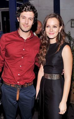 Leighton Meester and Adam Brody are engaged! ♥ Congrats to the happy couple!