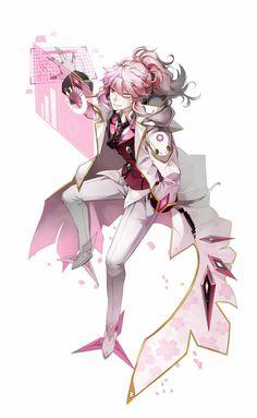 Pink :3 mastermind  ( elsword)