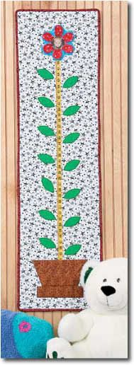 Sprouting Up Quilted Growth Chart