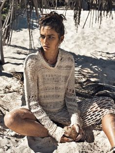 À La Plage: Andreea Diaconu By Lachlan Bailey For Vogue Paris May 2015